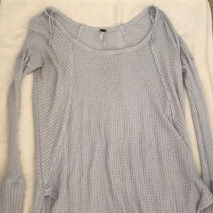 Long sleeve long sweater